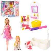Мебель JJ6605 ванна, кукла, дочка