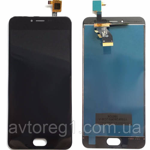 Дисплей Meizu M3,M3 mini (M688H) with touchscreen black orig (V.02)