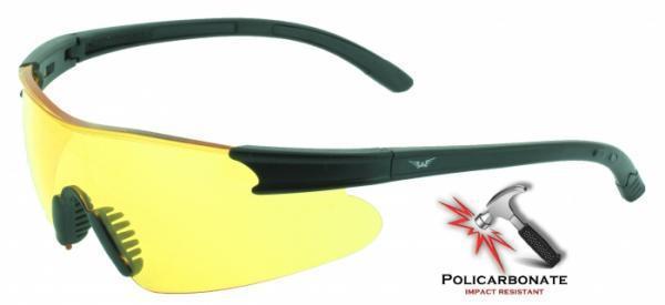 Защитные очки Weaver (X-Port) от Global Vision (США) желтая линза