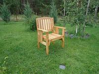 Кресло садовое деревянное, фото 1