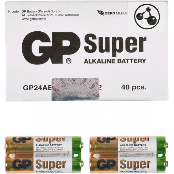 Батарейка GP 24АЕВ-2S2 по 2 штуки Alkaline mini