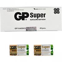 Батарейка GP 15АЕВ-2S2 по 2 штуки Alkaline