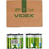 Батарейка Videx LR2O/D 2pcs SHRINK