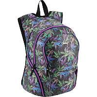 Рюкзак Kite Beauty с креативный дизайном Cannabis  K18-953L, фото 1