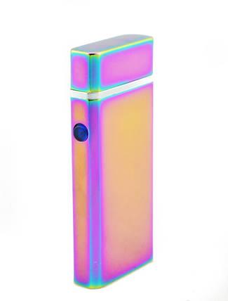 Зажигалка электрическая microUSB Jinlun 612 2 импульсных дуги, фото 2
