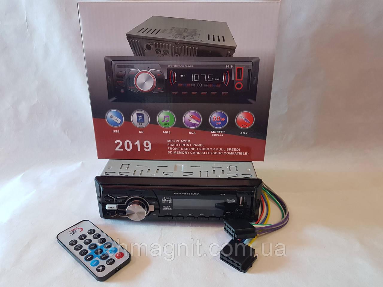 Автомагнитола Pioneer 2019 - MP3+FM+USB+SD+AUX!