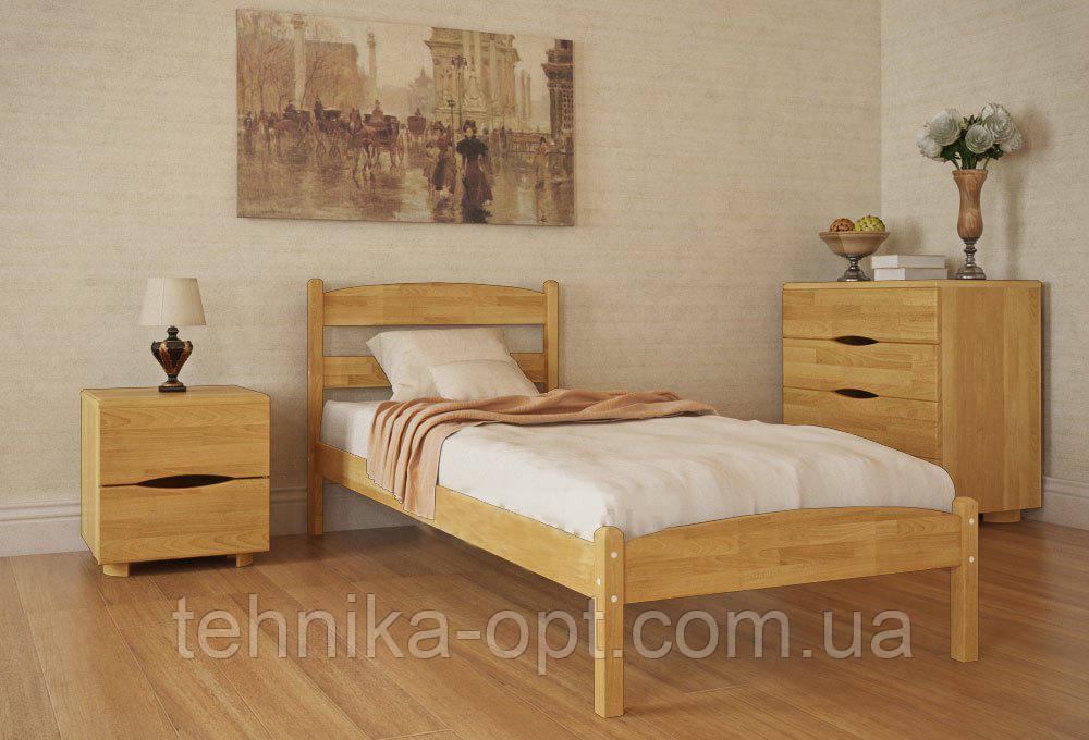 Кровать односпальная Олимп Лика без изножья (80*190)
