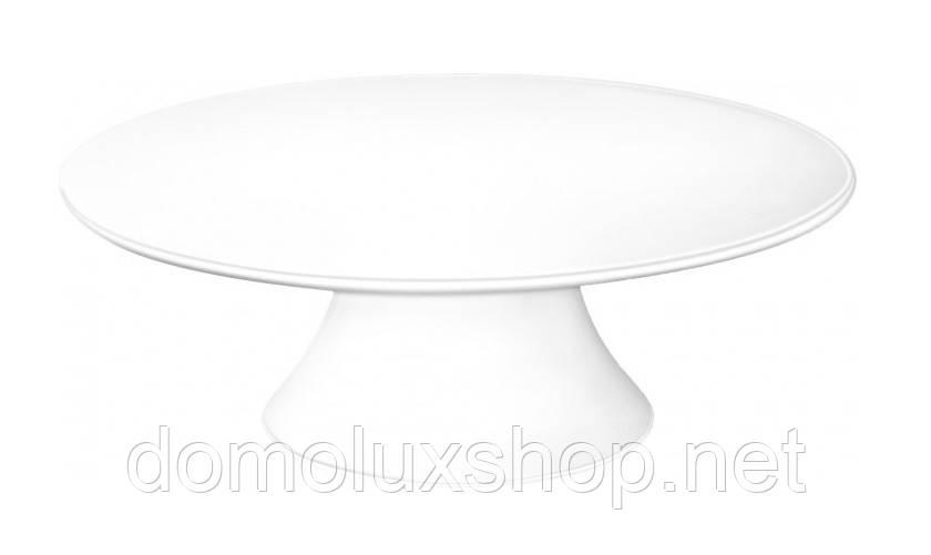 Wilmax Ваза для торта круглая 30*9 см (WL-996130)