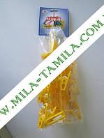Вешалка Парасоль с прищепками 20 шт. МТМ