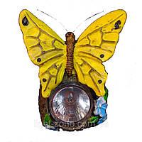 Газонный светильник на солнечной батарее Lemanso CAB84 бабочка