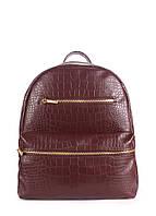 Рюкзак женский POOLPARTY Mini коричневый, фото 1