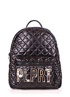 Рюкзак женский POOLPARTY Mini Plprt черный, фото 1