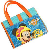 Пляжная сумка-коврик с надувным подголовником Микки и веселые гонки (Mickey Roadster Racers) 75х150 ТМ ARDITEX WD11896, фото 1