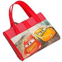 Пляжная сумка-коврик с надувным подголовником Тачки 3 (Cars 3) 75х150 см ТМ ARDITEX WD11958, фото 1