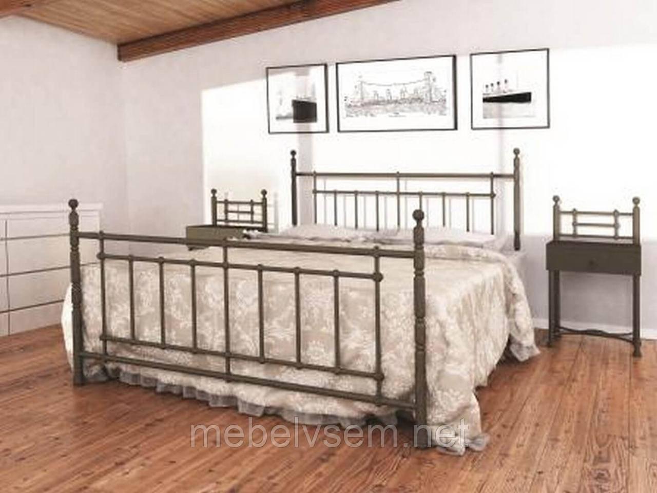 Ліжко Неаполь від Метал-Дизайн