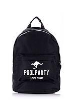 Рюкзак молодежный POOLPARTY черный, фото 1