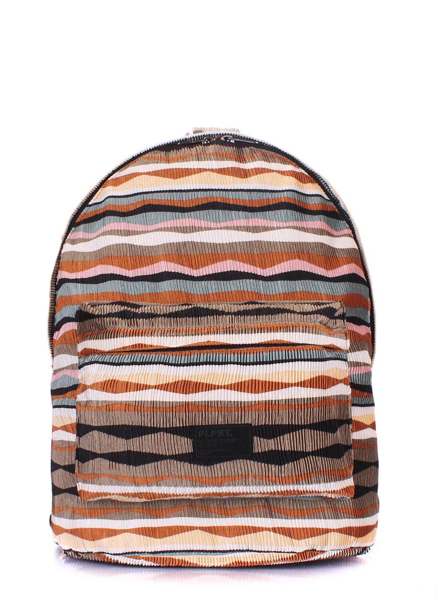 Рюкзак женский POOLPARTY коричневый