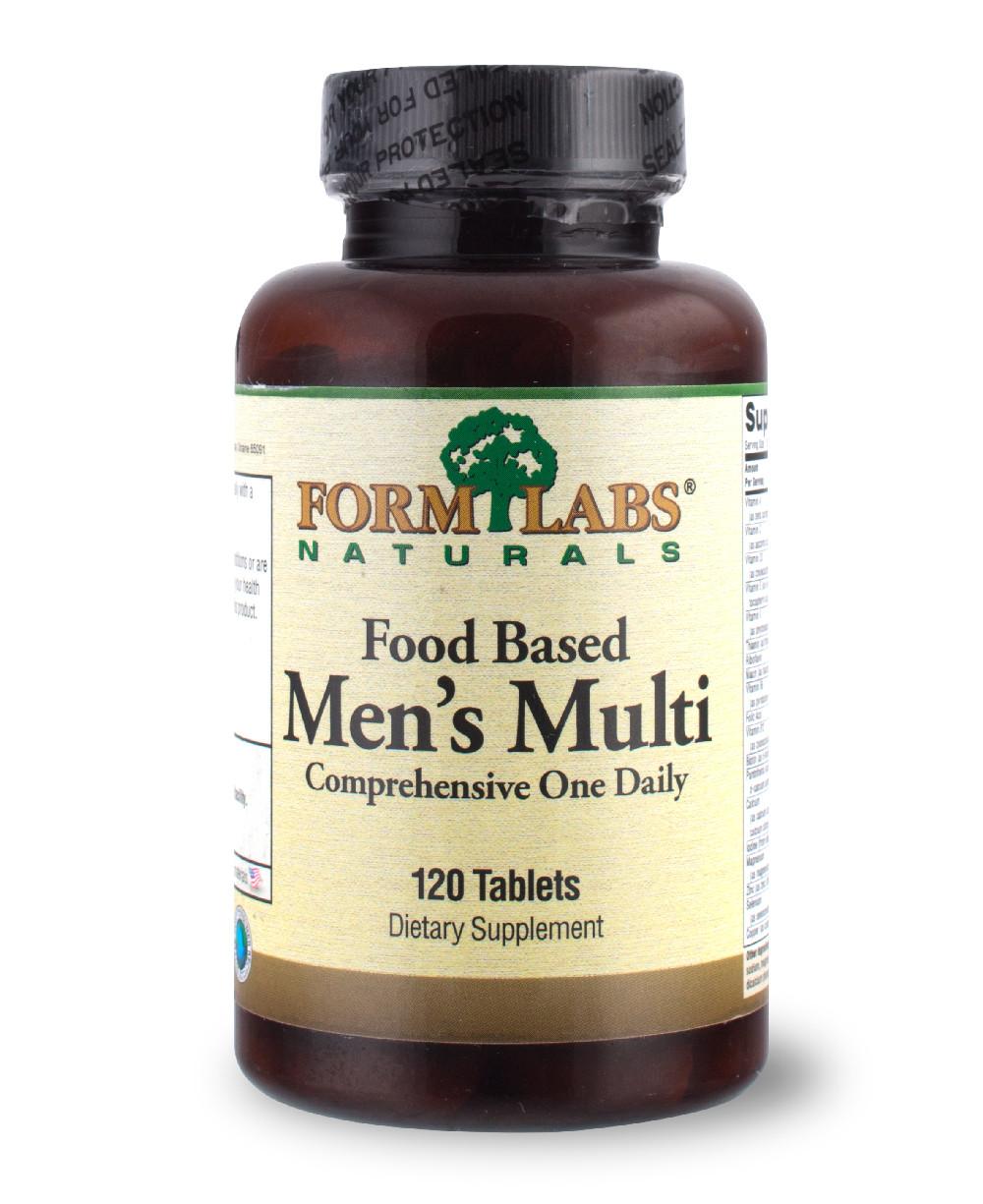 FLN Food Based Men's Multi 120 tab