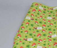 Бумага  для упаковки подарков 10 м Мухоморы