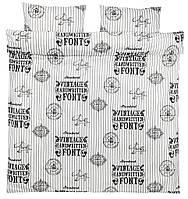 Комплект постельного белья (Пододеяльник: 200х220 см + наволочка, 2 шт )