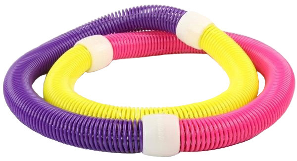 Мягкий гимнастический обруч для похудения Hula Hoop