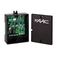 Внешний универсальный 4-х канальный приемник FAAC XR4 868 МГц, фото 1