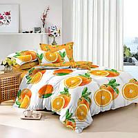 Двуспальный комплект постельного белья 180*220 сатин (9710) TM КРИСПОЛ Украина