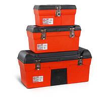 Комплект ящиков для инструментов с металлическим замком 3 шт INTERTOOL BX-0007 (BX-0007)