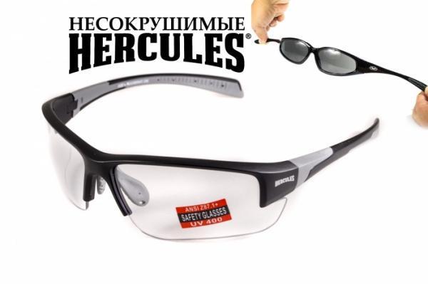 Защитные спортивные очки  Hercules-7 от Global Vision (США) прозрачная линза