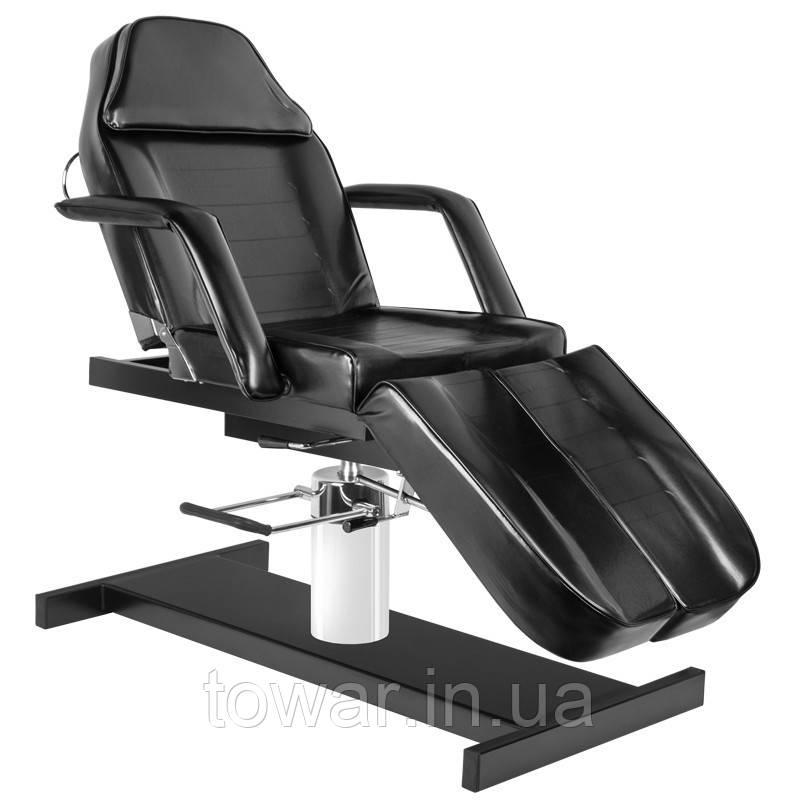 Косметическое кресло с подножками HYD. A 210C  чорное