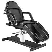 Косметическое кресло с подножками HYD. A 210C  чорное, фото 1