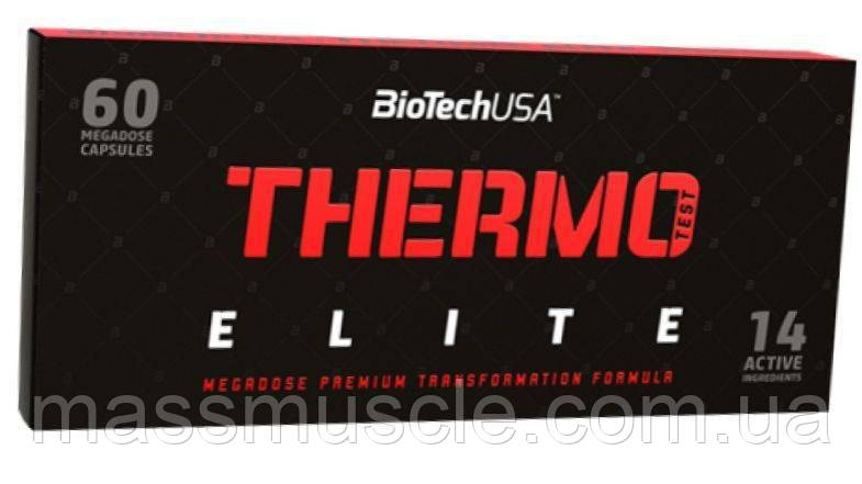 Жиросжигатель BioTech Thermo Test Elite 60 caps