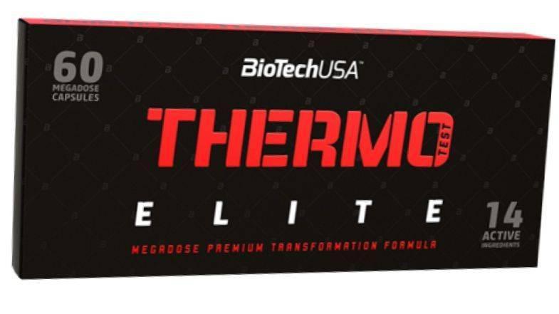 Жиросжигатель BioTech Thermo Test Elite 60 caps