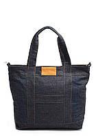 Джинсовая сумка POOLPARTY синяя