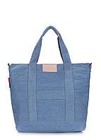 Джинсовая сумка POOLPARTY, фото 1