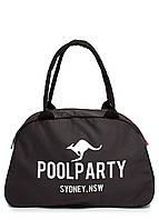 Коттоновая сумка-саквояж POOLPARTY