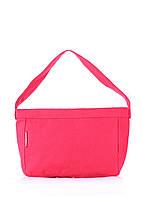 Коттоновая сумка POOLPARTY красная, фото 1