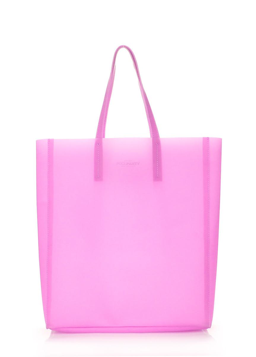 Пластиковая сумка POOLPARTY Gossip малиновая