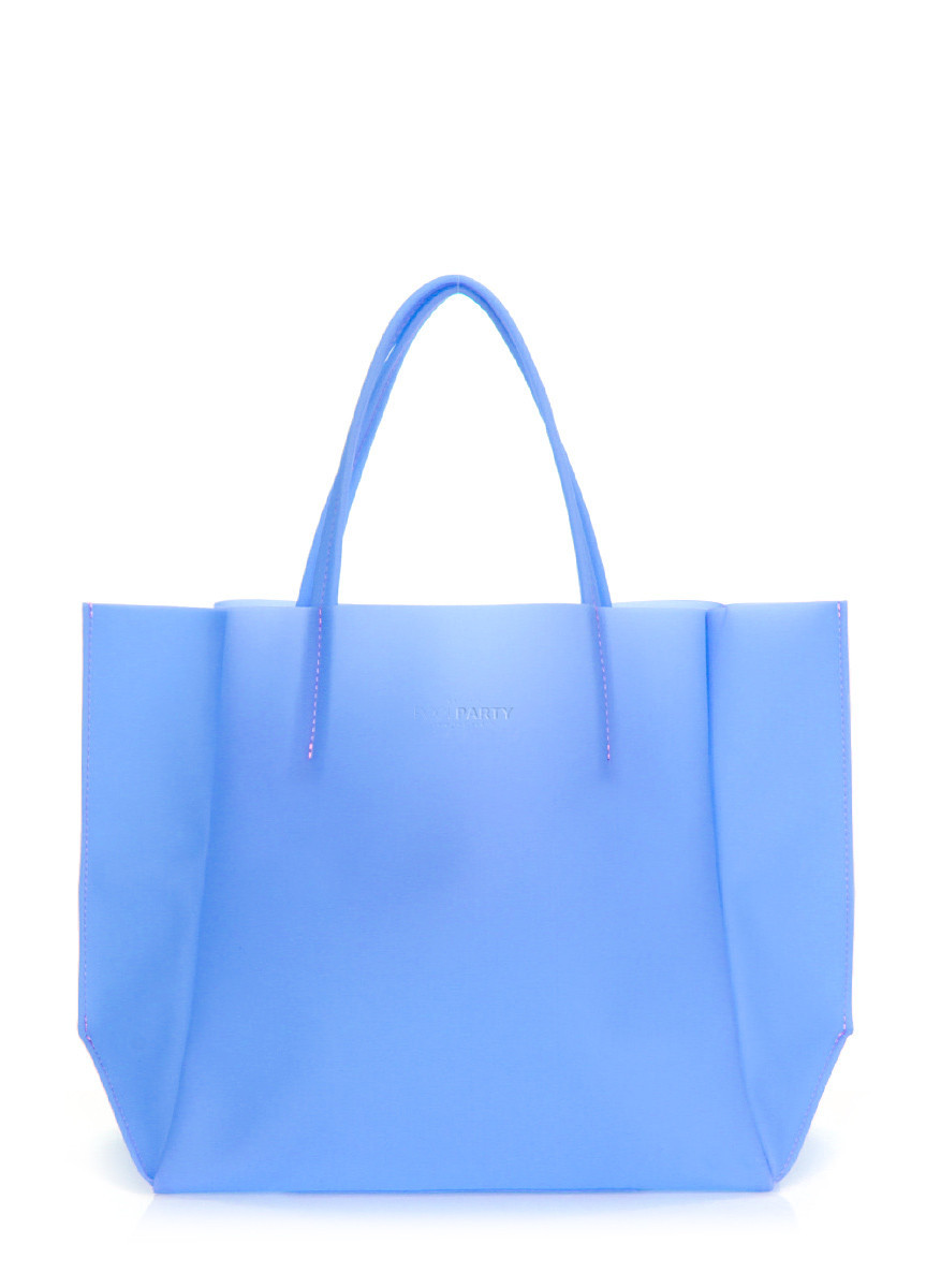 Пластиковая сумка POOLPARTY Gossip голубая