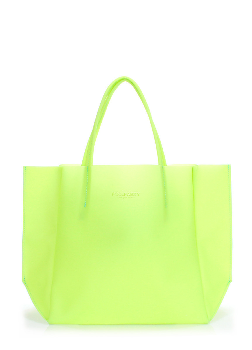 Пластиковая сумка POOLPARTY Gossip зеленая