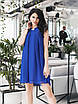 Платье коктейльное Мелитта синее, фото 5