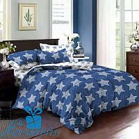 Семейное постельное белье из сатина ЗВЕЗДНОЕ НЕБО (2 пододеяльника), фото 1