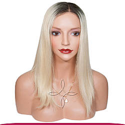 Перука з Натурального Волосся 40-45 см 190 грам, Омбре №02-613