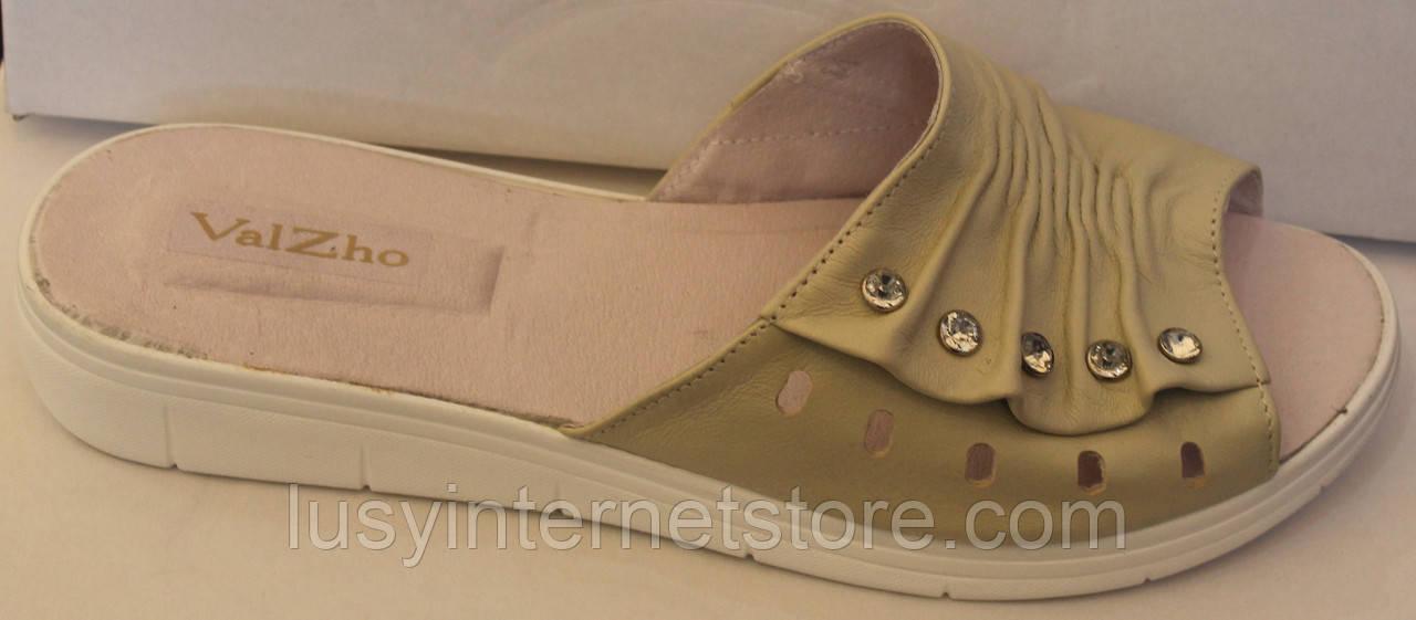 Сабо женские кожаные на низком ходу, сабо большие размеры от производителя модель ВБ503