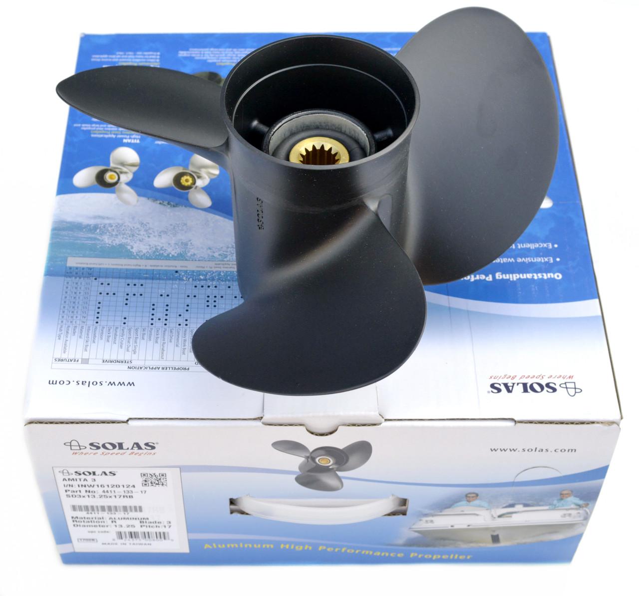 Винт гребной лодочный Suzuki (11.4x15) 58100-95363-019 SOLAS