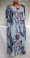 Платья женские оптом, штапель (52-56 универсальный) Италия