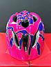 Велошолом дитячий BONDY R2 M 56-58 рожевий/фіолет ATH07H/M, фото 2