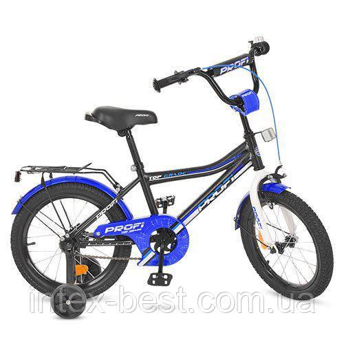 """Двухколесный велосипед Profi Top Grade 16"""" Черный (Y16101)"""