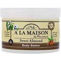A La Maison de Provence, Body Butter, Sweet Almond, 8 oz (227 g)
