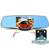 Зеркало-видеорегистратор 3в1 ЕА330 экран 5 дюймов + Видео парковка